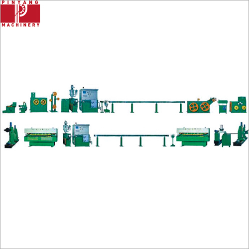 Multiple Cores PVC Power Cable Copper Wire Extruder Machine