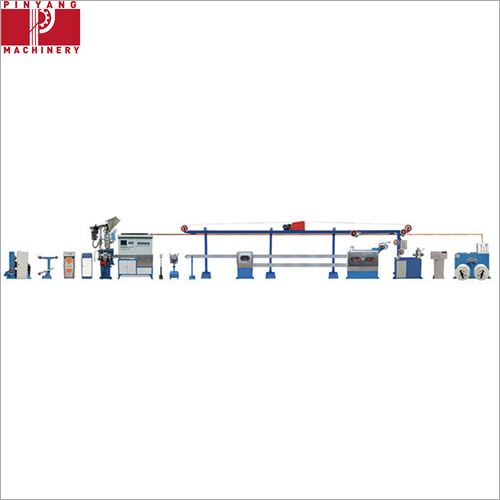 High Speed PVC PE PP Wire and Cable Extruder Machine