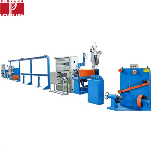 Electric Wire Sheath And Insulation Extruder With 630 Single Bobbin
