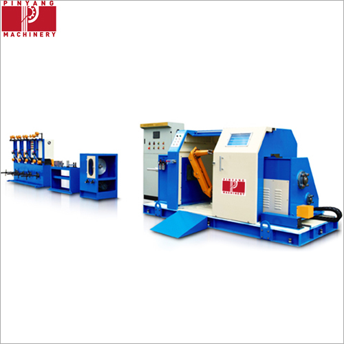 Electricity Cantilever High Speed Single Wire Twisting Machine
