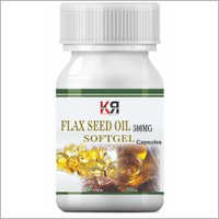 Flaxseed Oil Softgel Capsules