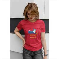 Ladies Designer Printed T-Shirts