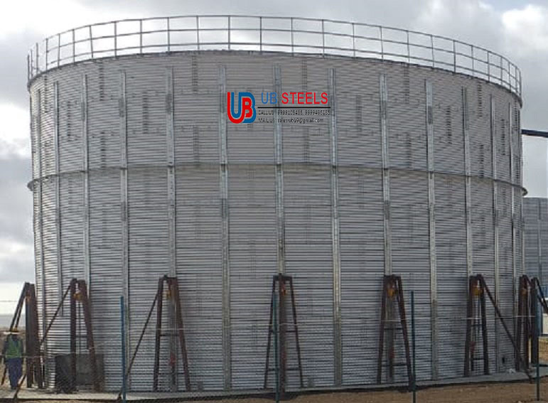 Zincalume Steel Liquid Storage Tank