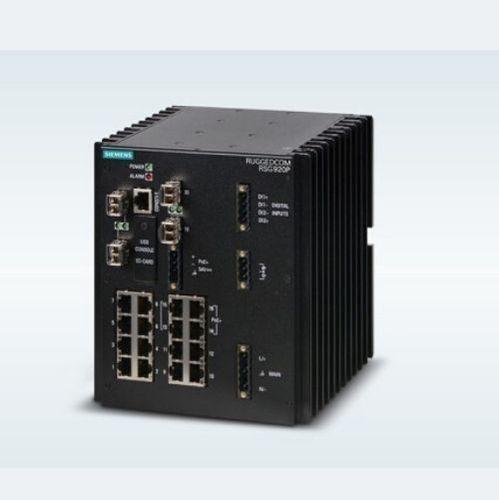 Siemens Ruggedcom RSG920P managed ethernet switch