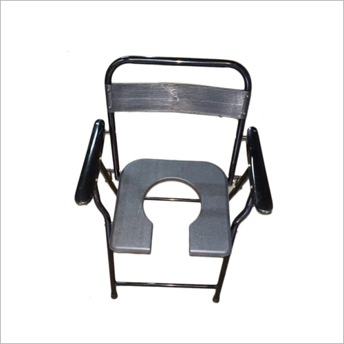 Medical Commode Black Chair