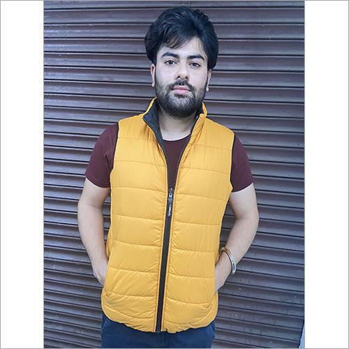 Unisex Reversible Sleeveless Jacket