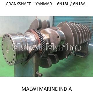 Crankshaft-yanmar-6n18l-6n18al Supplier India
