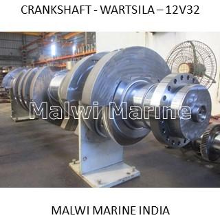 Crankshaft-wartsila-12v32-12v32ln-16v32-18v32-18v32ln Supplier India