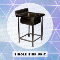 Single Sink Unit