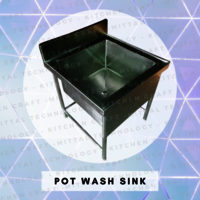 Pot Wash Sink
