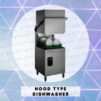 Hood Type Dishwasher