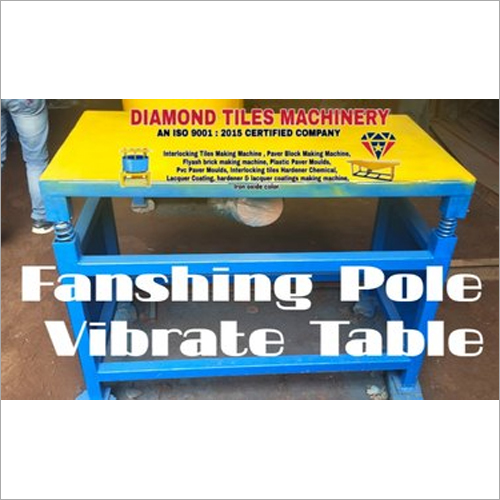 Fencing Pole Vibrating Table