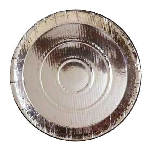 Disposable Round Silver Paper Thali