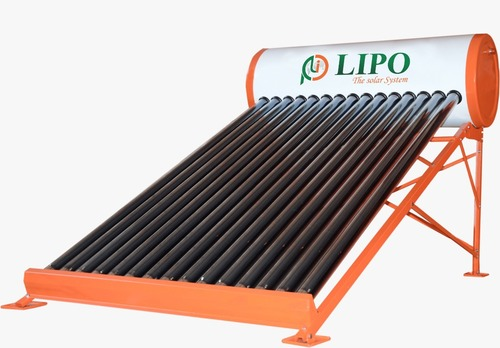 Solar Water Heater Evacuated Tube Collector 100 LPD