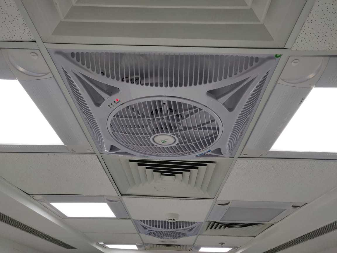 False Ceiling Mounted Recessed Cassete Fan