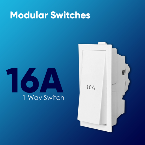 16A 1 Way Switch