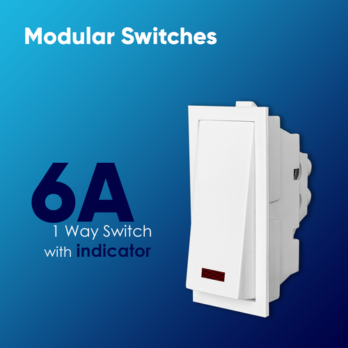 6A Switch with Indicator