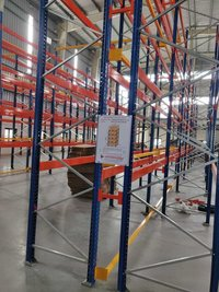 High rise pallet stacking rack
