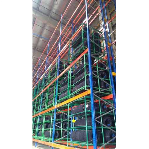 Double Deep Heavy Duty High Rise Pallet Racks