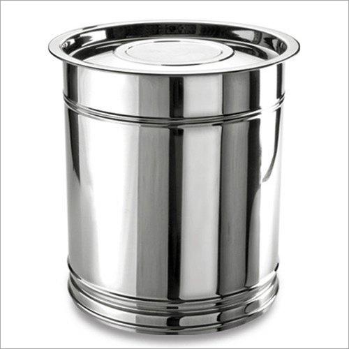 Stainless Steel Kitchen Pawali Drum