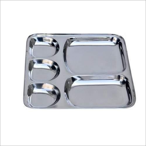 12x15 Inch SS Compartment Plate