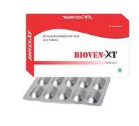 Ferrous Ascorbate, Folic Acid, Zinc Tablets