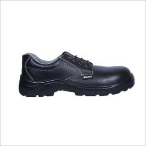 Zain Zm-1A ISI Approved PU Single Density Sole Apollo Leather Safety Shoes