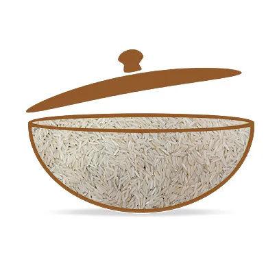 Sharbati Steam Rice