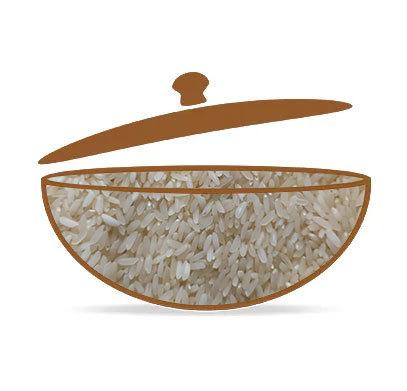 Samba Masoori Steam Rice