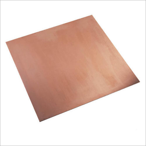 Pure Copper Earthing Plate