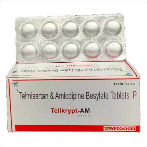 Telmisartan and Amlodipine Besylate Tablets IP