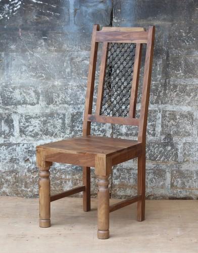 Wooden jali chair