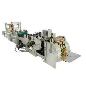 Fully Automatic Paper Bags Making Machine