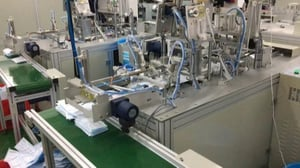 Fully Automatic Surgical Cap Making Machine