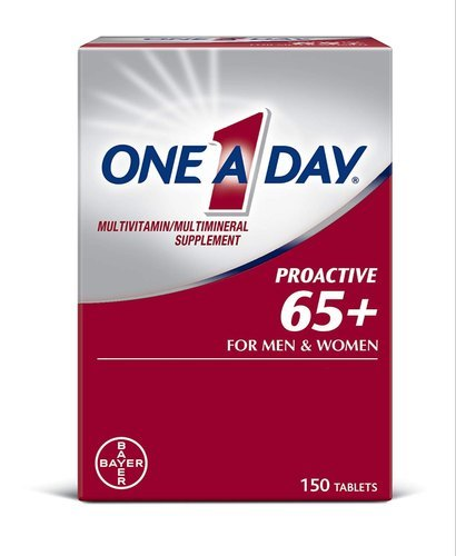 One-A-Day Proactive 65+ Multivitamin - 150 Tablets