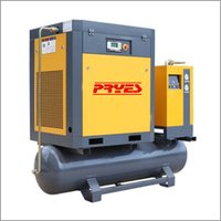 Tank Mounted Rotary Screw Air Compressor