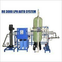 Automatic 3000 LPH Industrial RO Plant
