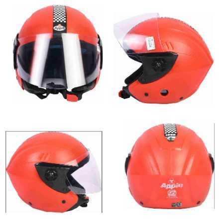 4g Pc Visor (Chrome) Natural Finish Helmets