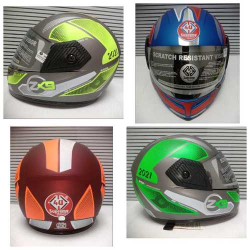ZX-9 Pro DX Full Face Bike Helmet
