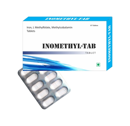 Iron, L Methyl folate, Methylcoblamine Tablets