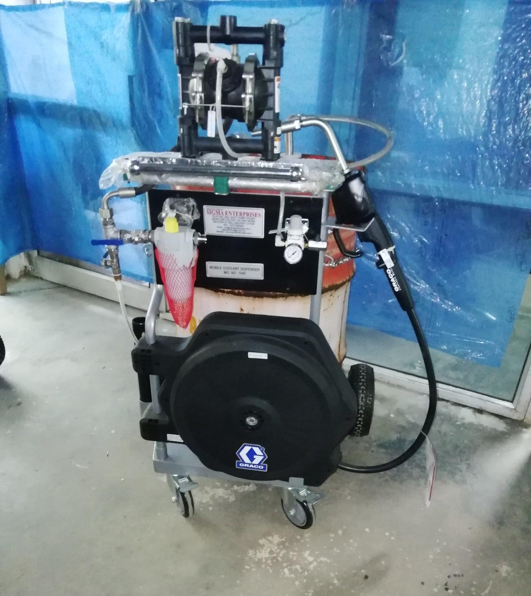 Cart based metered dispensing