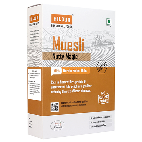 Muesli Nutty Magic Nordic Rolled Oats