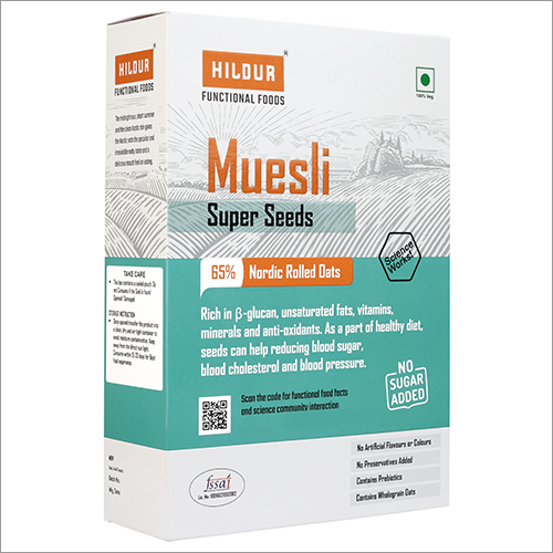 Muesli Super Seeds Nordic Rolled Oats
