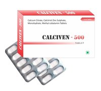 Calcium Citrate, Calcitriol, Zinc Sulphate, Monohydrate, Methyl Cobalamin Tablets