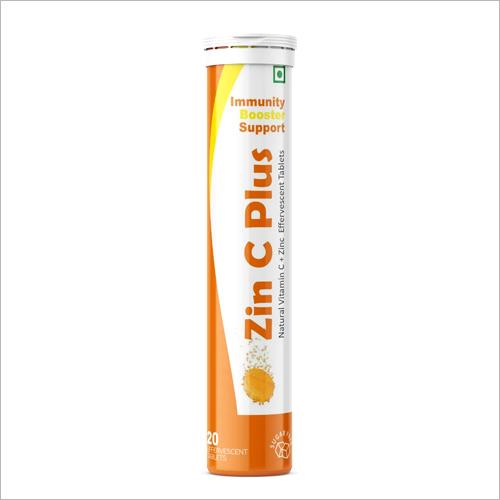 Natural Vitamin C Zinc Effervescent Tablets