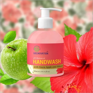 300 ml Green Apple and Hisiscas Fragrance Hand wash