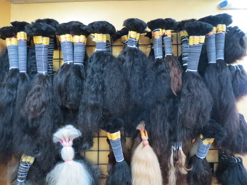 Raw Indian Human Bulk Hair Directly From India