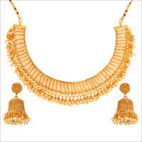 WST2578W Antique Necklace Set