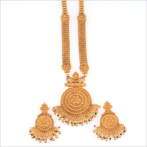 WST381 Beads Antique Necklace Set