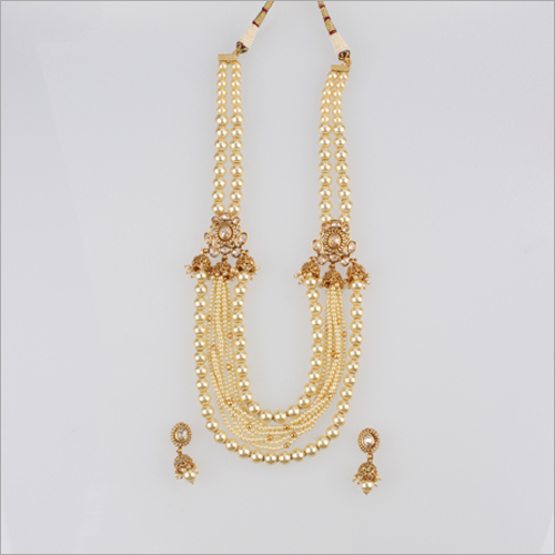 WST683 Beads Antique Necklace Set